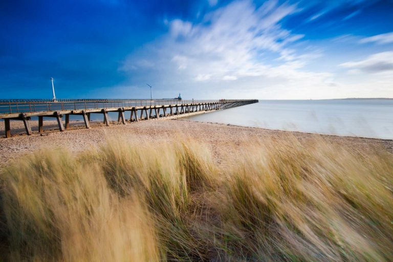 Blythe Pier and beach
